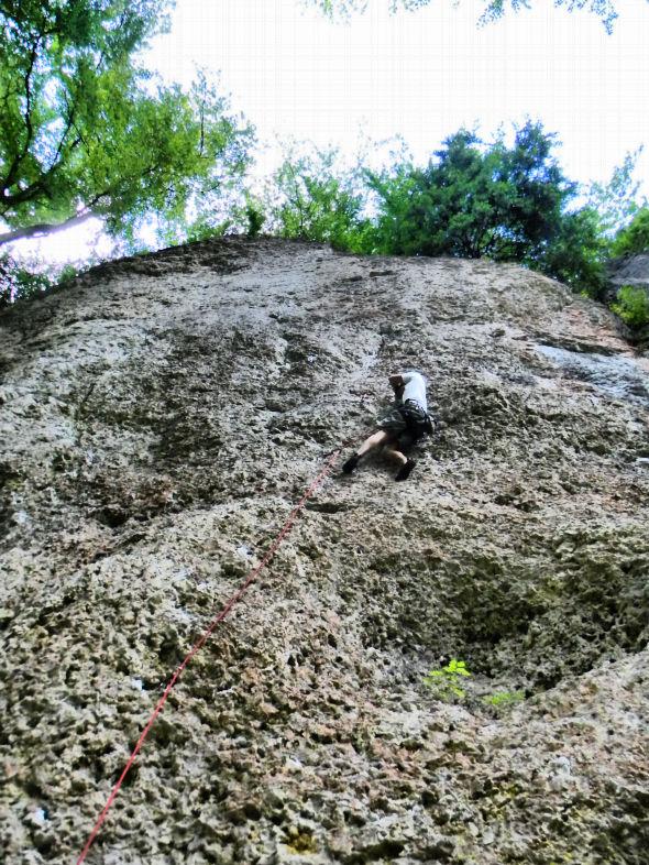 Frankenjura climbing