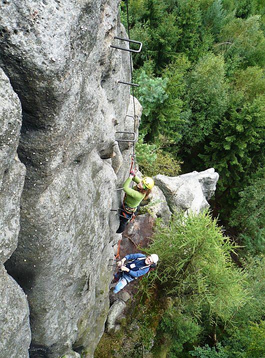 Vrcholový výšvih - alpiner grat