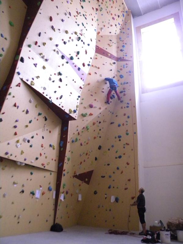 horolezecká stěna ústí nad labem