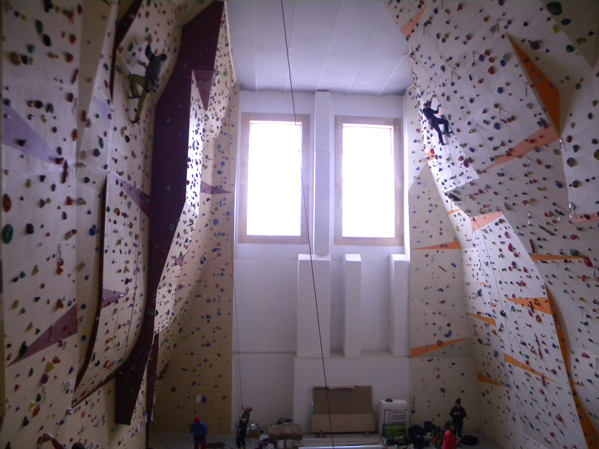 horolezecká stěna