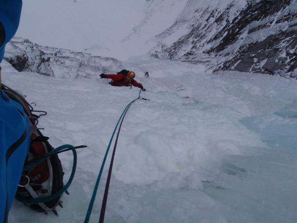 ledové lezení